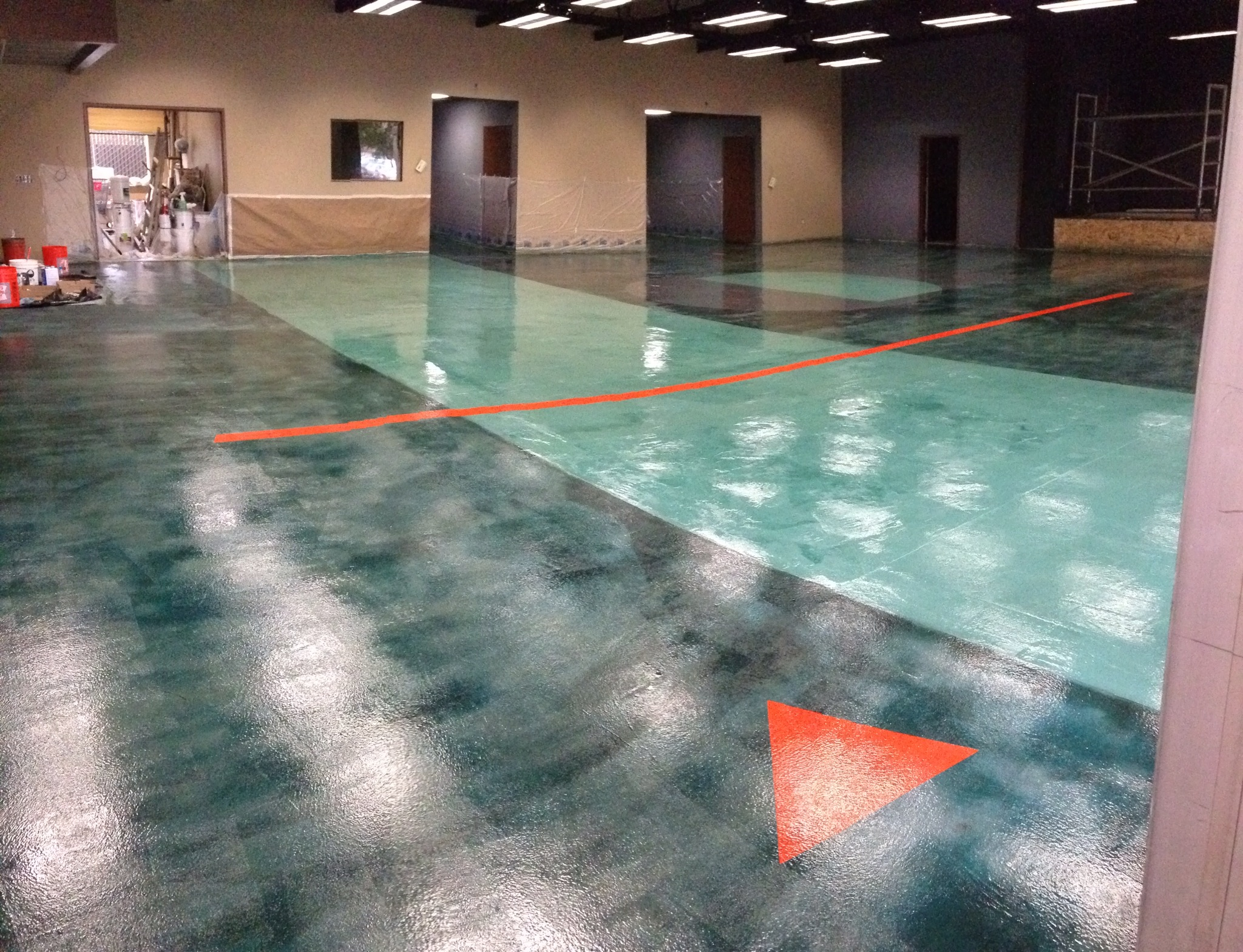 Concrete Overlay Flooring : Decorative concrete staining overlays epoxy